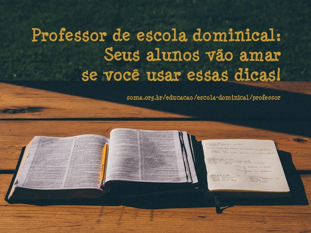 33287bf60a3 Como melhorar suas aulas da classe de escola dominical